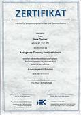 Trainerin für Autogenes Training