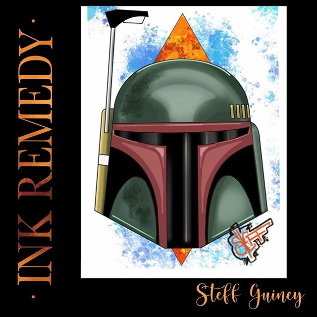 Steff has this Boba Fett helmet availabl