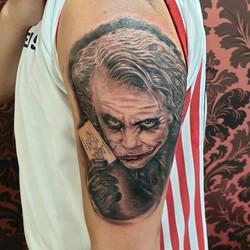 Awesome #heathledger #joker by _prezjuan