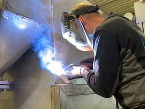 Vestmekaniske AS lager produksjonseffektivt ensilasjesystem for Scanbio As.