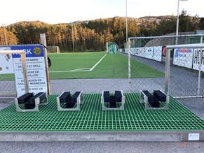Vestmekaniske leverer 14 nye spillerstasjoner med koster til Banefilter