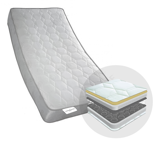 'ORTHOPAEDIC' COIL SPRUNG MATTRESS