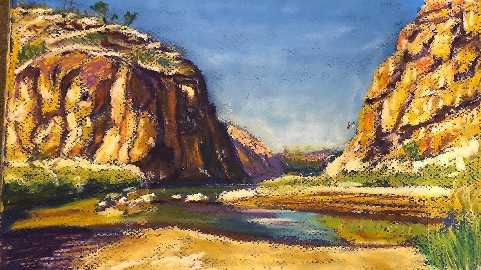 Glen Helen Gorg, Western McDonnellRanges NT Australia
