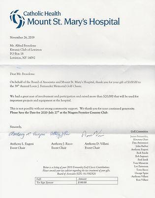 Mount St Mary's Hospital (Fernandez  Mem