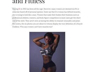 Kontrol Magazine: Muscle Goddess + Devone