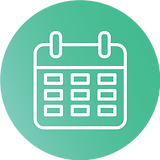 —Pngtree—calendar vector icon with white