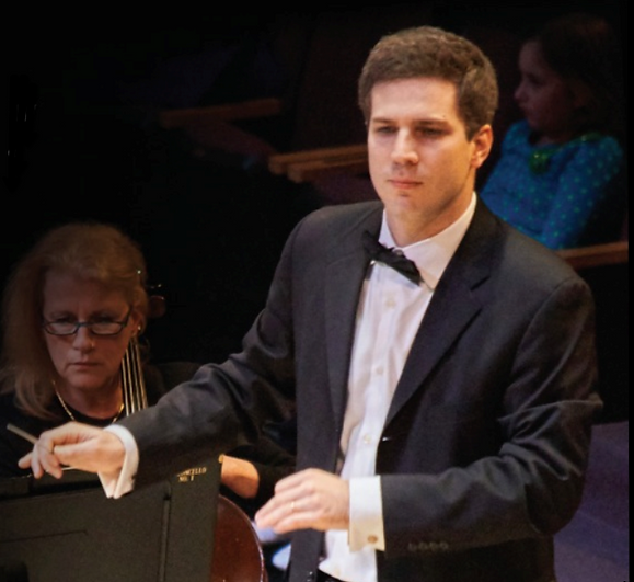 Reuben Blundell Conducts The Lansdowne Symphony Orchestra