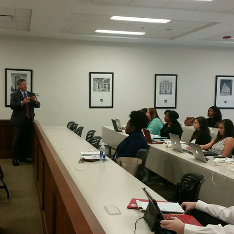 Attorneys Jay Jacobus and Tiffany Grove Guest Lecture and Instruct on Trial Practice at Mississippi