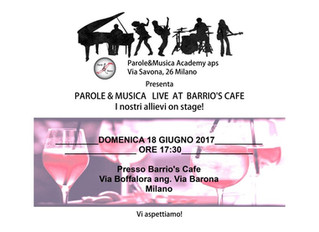 Live at Barrio's Café