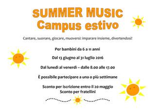Quest'estate, vogliamo fare musica coi vostri bambini!