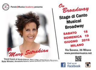 MARY SETRAKIAN ha scelto Parole & Musica Academy!