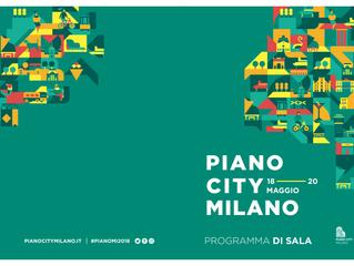 """PIANO CITY MILANO SABATO 19 Maggio 2018   FILIPPO RINALDO   h. 18.00   """"IMPROVVISAZIONE INTERAT"""