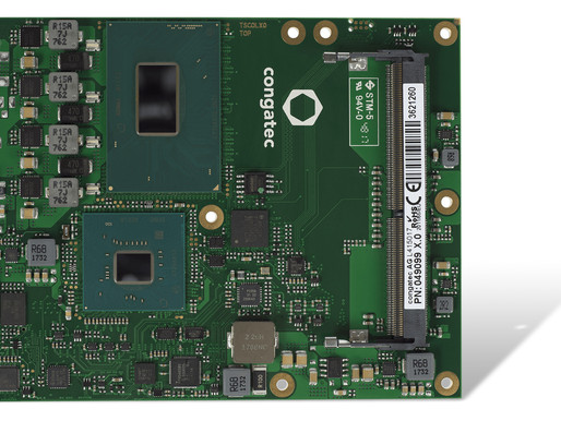 congatec COM Express Computer-on-Modules with brand new 8th Gen Intel® Xeon® and Intel® Core™ proces