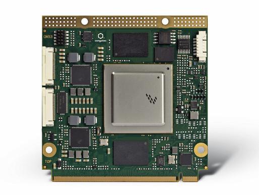 congatec, Qseven 및 SMARC 모듈에서 새로운 NXP i.MX8 프로세서 지원
