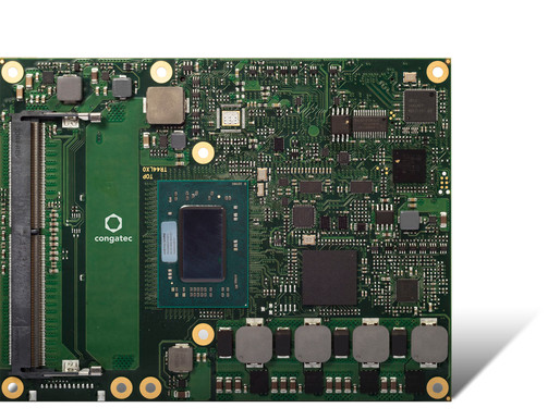 congatec launches COM Express Type 6 module with AMD Ryzen™ Embedded V1000 processors