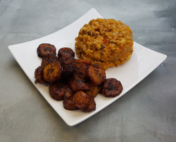 Beans Porridge and Plantain