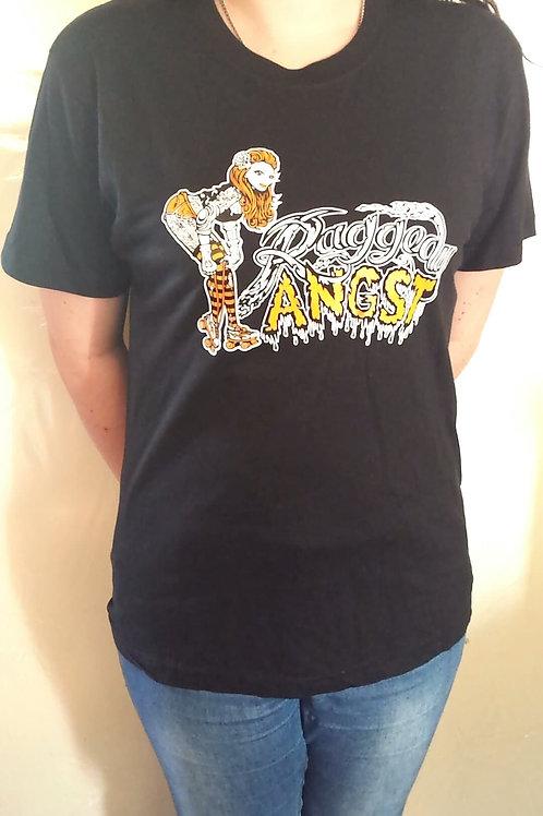 Raggedy Angst T Shirt Black