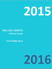 Informe 2015 de Diálogo Abierto
