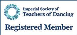 Imperial Society of Teachers of Dancing Registered Member logo