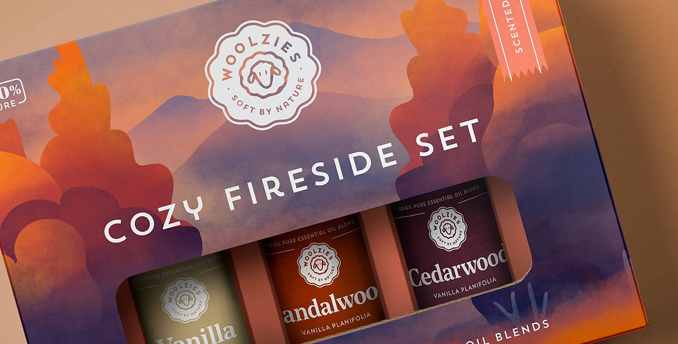 The cozy Fireside Essential Oil Collection