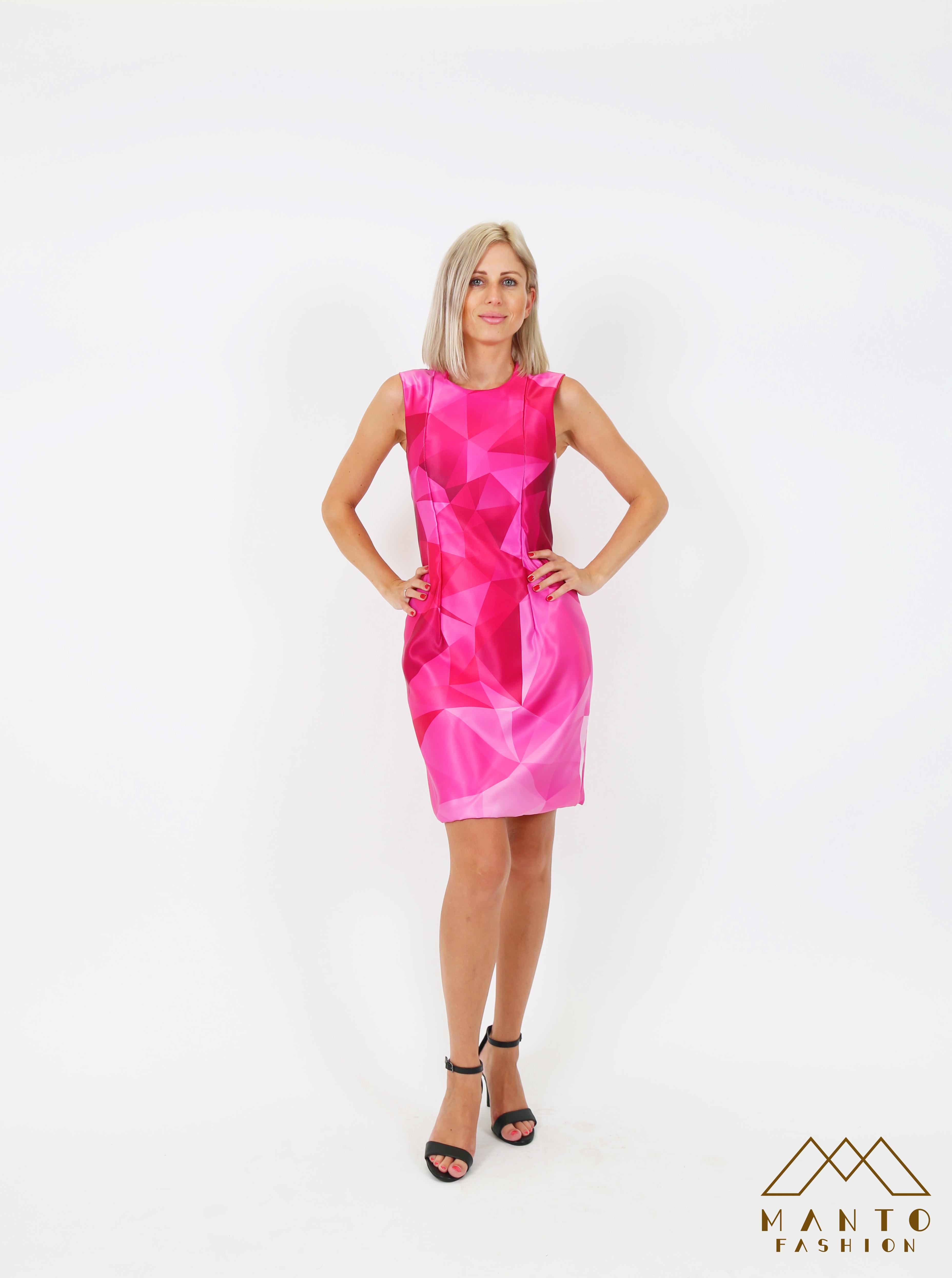 Pink Prisma Dress