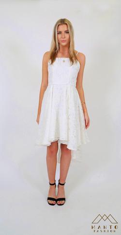 White Dress Ciara Front