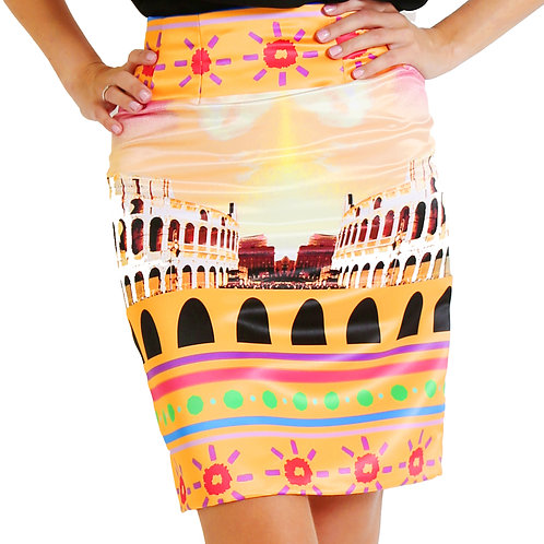 "Skirt ""Roma* from The European Journey Collection"