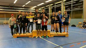 """Die """"Blausee Allstars"""" sind erneut die Gewinner der diesjährigen Volleyball-Ortsmeisterschaften"""