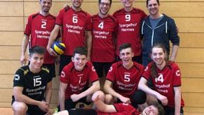 Relegationsspiel zwischen den Herren des AVC St. Leon-Rot und der VSG Kleinsteinbach 3