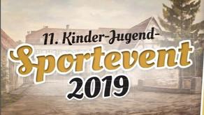 Einladung zum 11. Kinder-Jugend Sportevent 2019