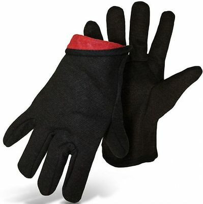 Boss-Brown-Jersey-Gloves-with-Red-Fleece