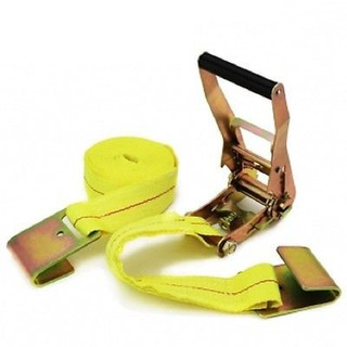 "2"" x 20' Ratchet Strap w/Flat Hooks"