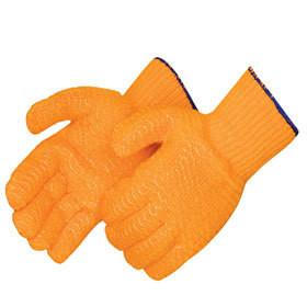 Orange Honeycomb Glove