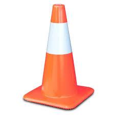 Fluorescent Road Cone