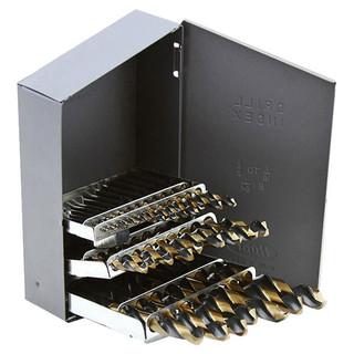 29 Pc Black & Gold Drill Bits