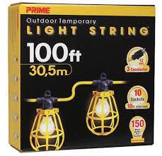 100' Contractors Light String