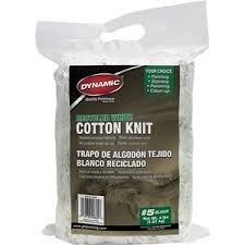 White Cotton Painters Rags – 3 lb Bag