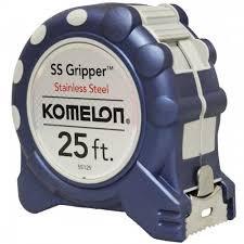 25' Stainless Steel Gripper Tape Measure
