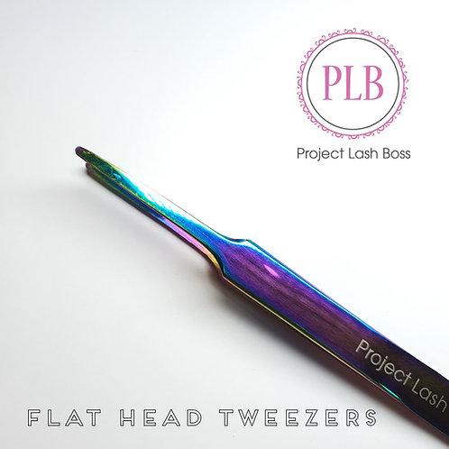 PLB Flat Head Tweezers