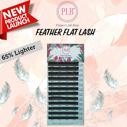 PLB Feather Flat Lash 0.20mm Thickness