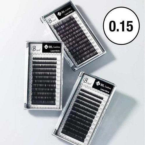 BL Lashes Laser Mink (0.15mm Thickness)