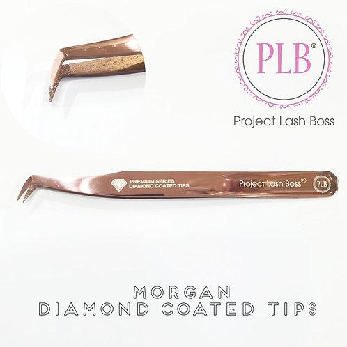 PLB Premium Series Diamond Coated Tips Morgan Tweezers