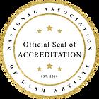 NALA accreditation, lash school, lash academy