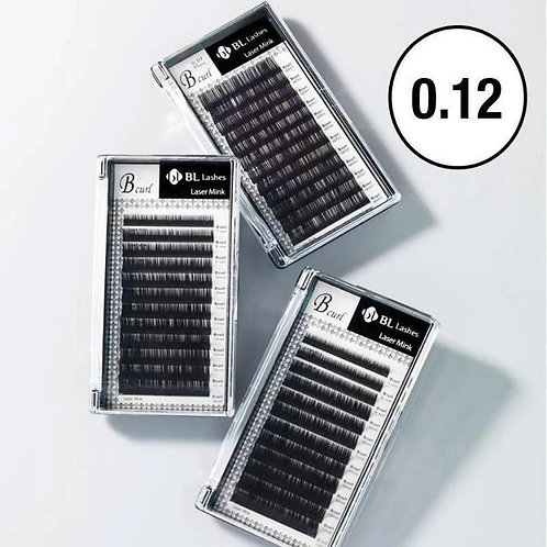 BL Lashes Laser Mink (0.12mm Thickness)
