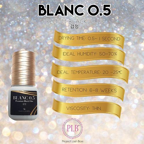 BLANC 0.5 Premium Black Lash Glue 5g