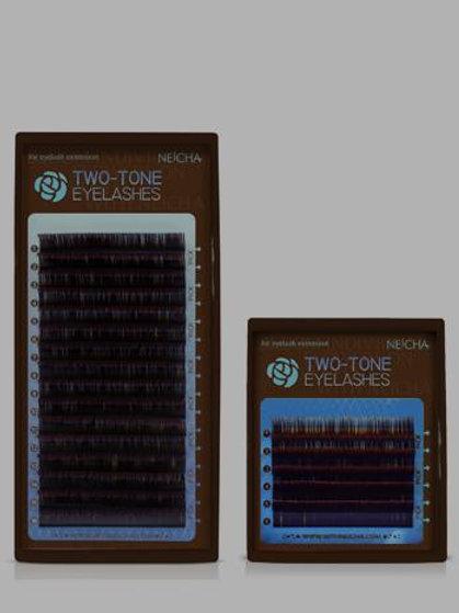 Neicha Two Tone Eyelashes - Mixed Length