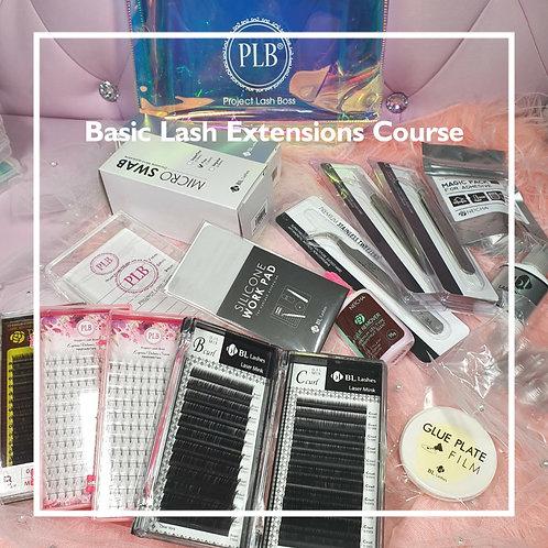 Basic Lash Extension Course