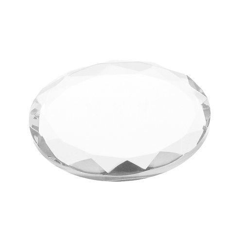Crystal Plate Clear Colour
