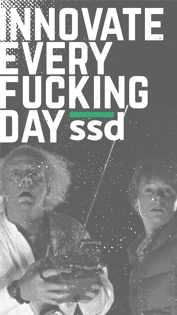 ssdesign - innovate every fucking day