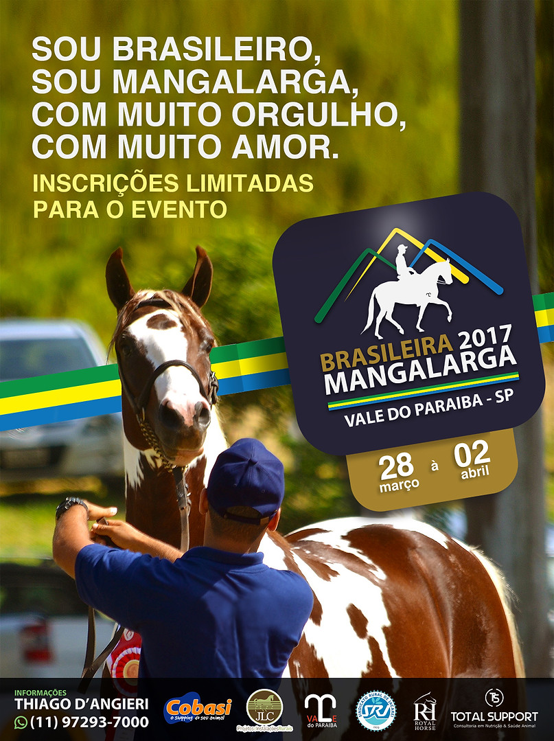 Brasileira Mangalarga 2017 - Edição Vale do Paraíba